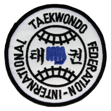 Int'l Tae Kwon Do Federation Patch