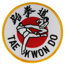 Tae Kwon Do Flying Kick Patch